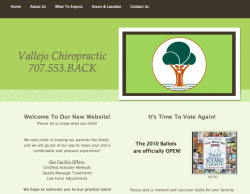 Website design in Vallejo
