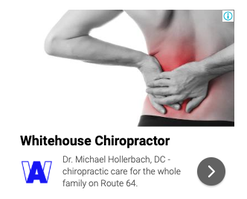 Sample Chiropractor Google Ad